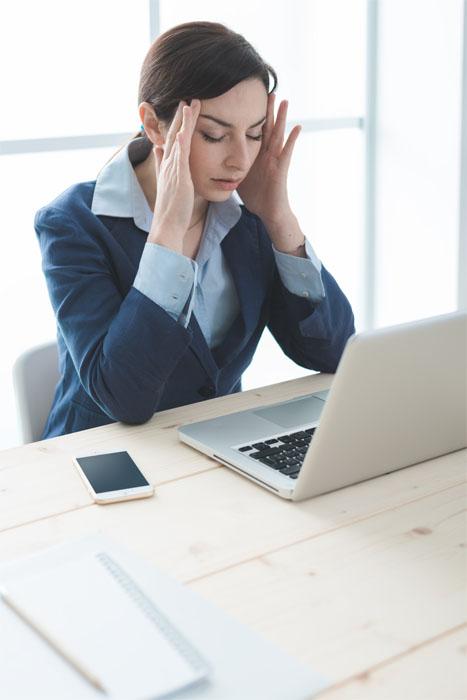 Ból głowy w pracy Febrisan